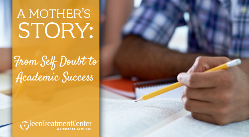 A Parent's Story: From Self Doubt to Academic Success