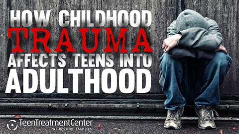 How Childhood Trauma Affects Teens