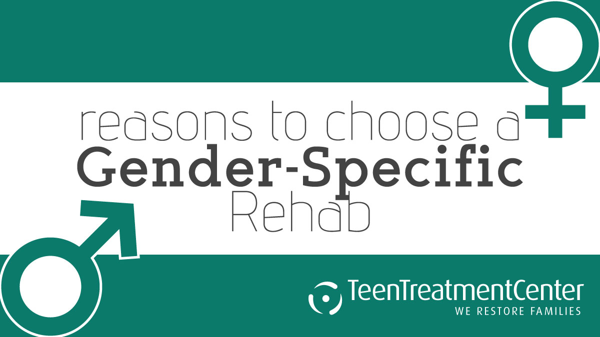 reasons to choose a gender-specific rehab