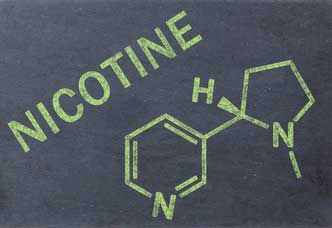 Chemical makeup of Nicotine