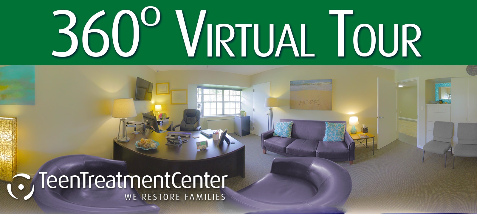 Take a Virtual Tour of Teen Treatment Center